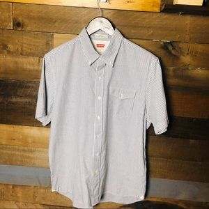 Men's Levi's Standard Fit Striped Button Down Sz M